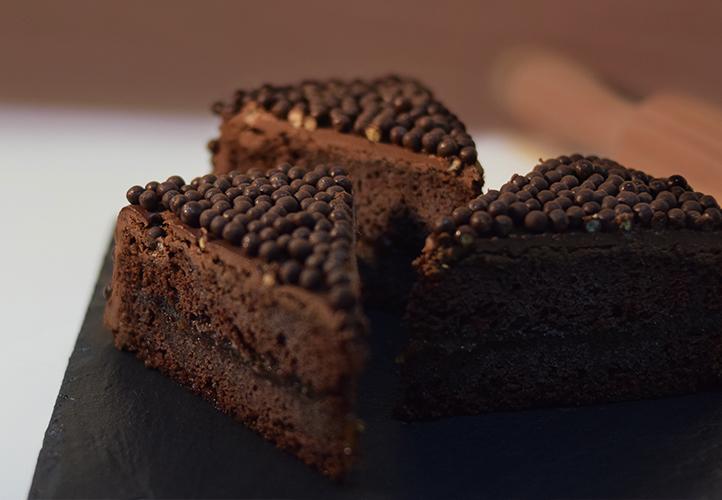 Tarta Casera Bolas Chocolate
